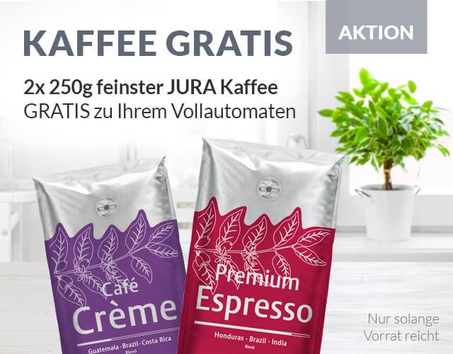 2x 250g Kaffee gratis!